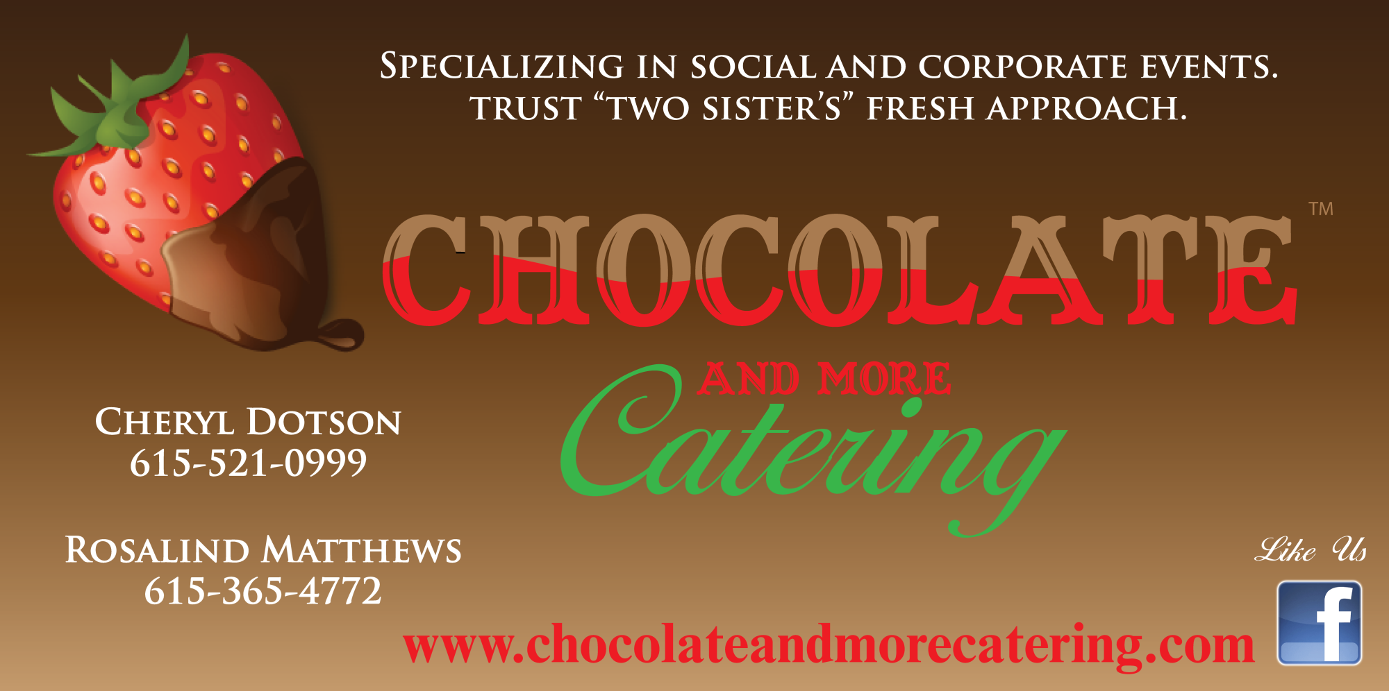 Chocolate and More Catering